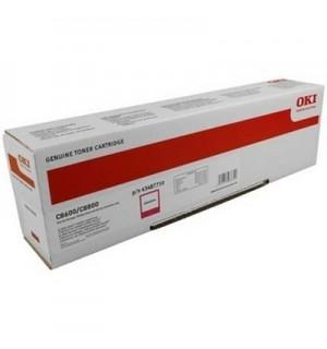 43487710/43487722 Тонер-туба красный для OKI C8600/ C8800 (6000 стр)