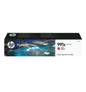 M0J94AE HP 991X Картридж Magenta для HP PageWide Pro 772dn/777z/750dw (16000 стр.)