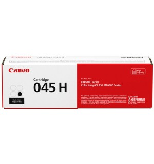 Canon Cartridge 045 H BK [1246C002] черный повышенной емкости для Canon i-SENSYS LBP-611Cn, 613dw, MF632Cdw, 635Cx, 633Cdw, 636Cdwt, 631Cn 634Cdw (2800 стр.)