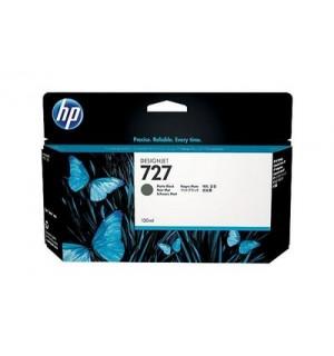 B3P22A Картридж HP 727 с матовыми черными чернилами для принтеров HP Designjet T1500/ T2500/ T920 серии ePrinter, 130 мл