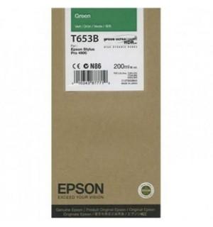 T653B / T653B00 Картридж для Epson Stylus Pro 4900 green ( 200ml )