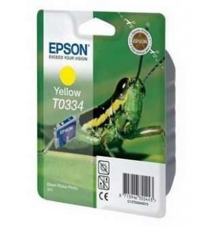 T0334 / T033440 Картридж для Epson Stylus Photo 950 Yellow  (440 стр.)