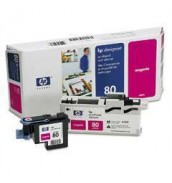 C4822A HP 80 Голова (printheads and printhead cleaners) для плоттера HP DesignJet 1050с/ с+/ 1055cm/ cm+ (Magenta)