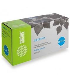 C9731A совместимый Картридж Cactus CS-C9731A для HP Color LJ 5500/ 5550 серии Cyan