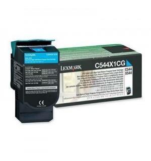 C544X1CG Картридж для Lexmark C540, C543, C544, X543, X544 Cyan Extra High Yield Return Program  4K