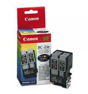 BC-21е [0899A002] Картридж (голова с чернильницами) к Canon BJC 2000/ 2100/ 4000/ 4100/ 4200/ 4300/ 4400/ 4550/ 4650/ 5100/ 5500, S100, FAX-B180C/ 210C/ 215C/ 230C, MultiPASS C20/ C30/ C50/ C70/ C75/ C80 головка с чернильницами (3000)