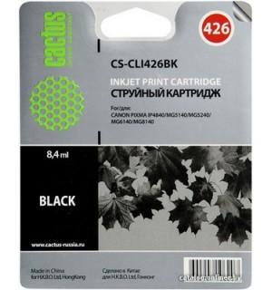 PGI-425Bk Cовместимая чернильница Cactus PGI425BK для CANON PIXMA Series IP4840/ 4940, MG5140/ 5240/