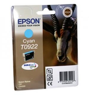 T0922 / T09224А/T1082 Картридж для Epson Stylus C91/ T26/ T27/ СX4300/ CX9300F/TX106/ TX109/ TX117/TX119 Cyan  (495стр. 5,5ml)