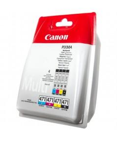 CLI-471 C/M/Y/BK [0401C004] Набор картриджей CANON для PIXMA MG5740, 6840, 7740 MULTIPACK