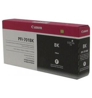 PFI-701BK [0900B005] Чернильница CANON Black  для IPF-8000/9000 700мл