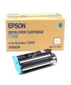 S050036 (C12S050036) Тонер-картридж Epson AcuLaser C1000/ C2000 син.