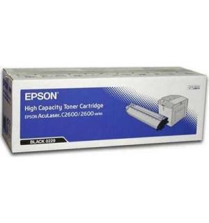 S050229 Тонер-картридж Epson AcuLaser 2600N, C2600N, Black (5000стр.)