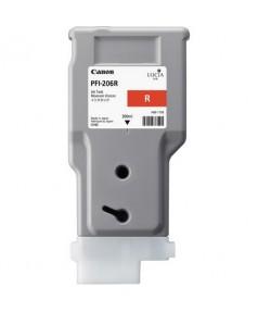 PFI-206R (Red) [5309B001] Картридж с чернилами для плоттера Canon iPF6400/6450 (300 мл)