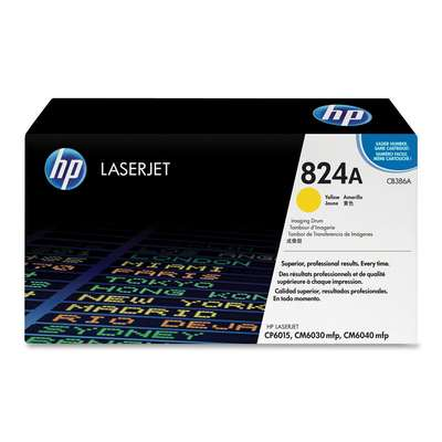 CB386A №824A Желтый барабан для HP Color LaserJet CP6015/ CM6030/ CM6040 (35000стр.)