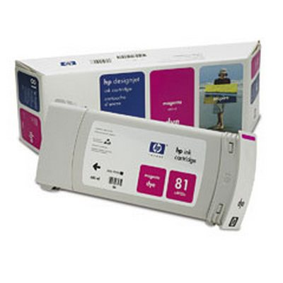 C4932A Картридж HP №81 Magenta для плоттеров HP DesignJet 5000/ 5000ps/ 5500/ 5500ps. (680 ml)